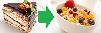 Перестать есть сладкое возможно лишь, имея знания о продуктах
