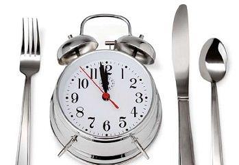 режим дня поможет снизить аппетит