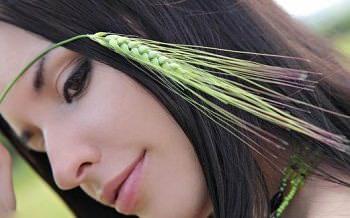 выпадение волос остановит пророщенная пшеница