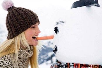 Хорошее настроение поможет не поправиться зимой