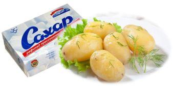 картошка вредна так как ее гликемический индекс почти такой же как у сахара