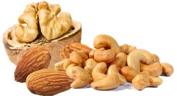 Вред от жаренных орехов